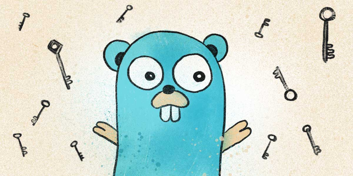 Go Gopher illustration
