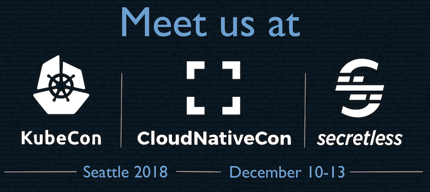 Meet us at Kubecon promo